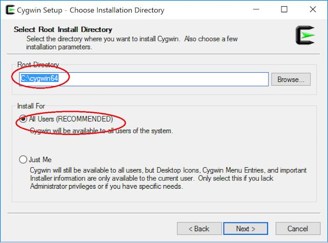 CS 101: Installing Cygwin